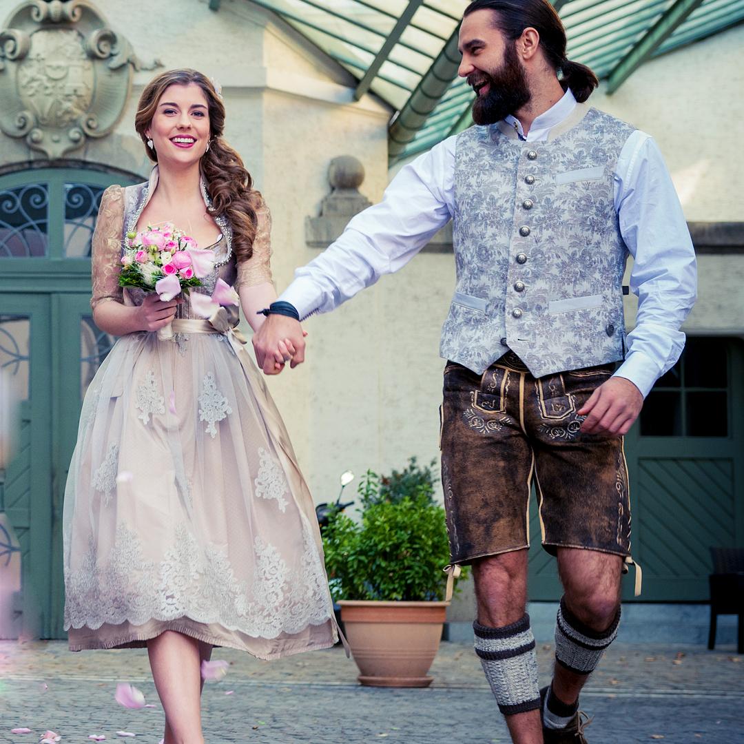 Tracht Hochzeit Paar